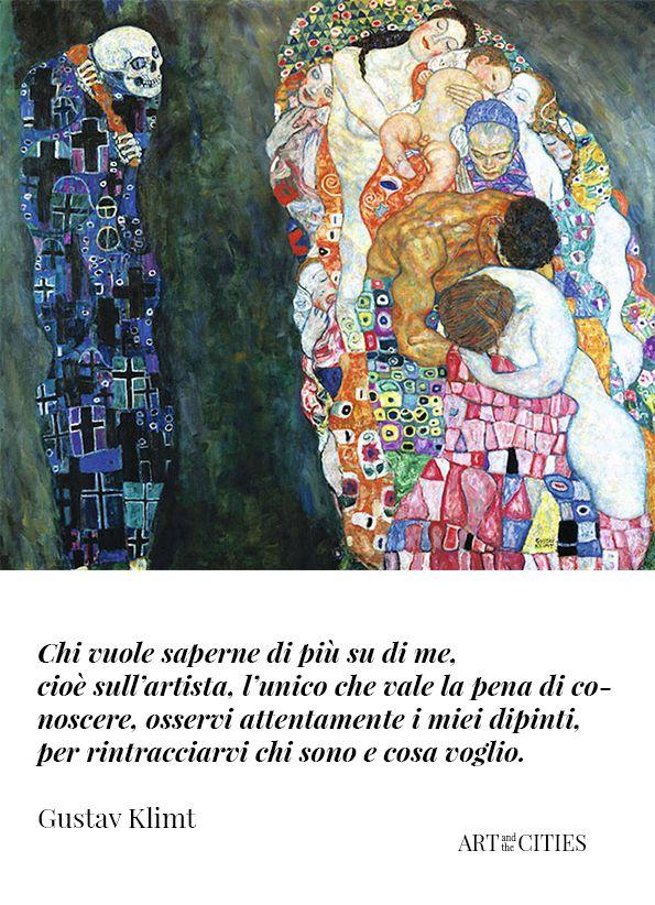 Frasi Di Klimt Sulla Vita.Gustav Klimt Morte E Vita Gustav Klimt Klimt Arte