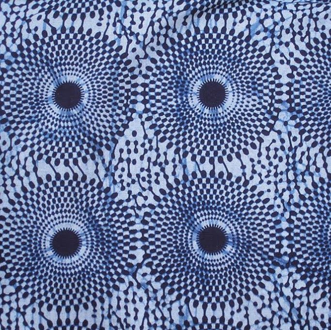 African Wax Print Cloth from ATL GHANA - | Surface Design ::: in