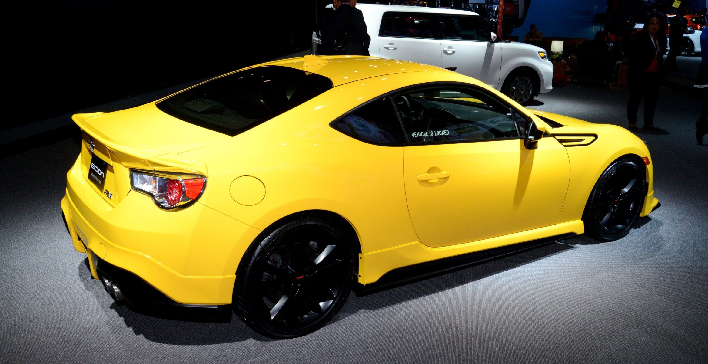 2015 Scion FR S RS1 Packs Hot TRD Performance Parts As Standard