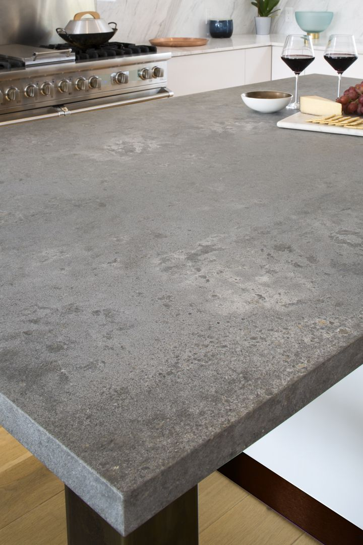 Ceasarstone Rugged Concrete Pantry Countertop Concrete Kitchen