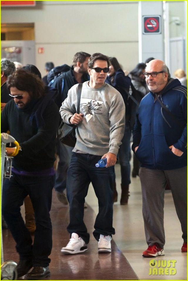 af2805d9a8809b Mark Wahlberg wearing Air Jordan III  88 Retro