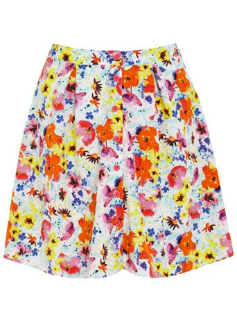 Cute Tropical Flippy Skirt from Miss Selfridge, lovely for a hot summers day!