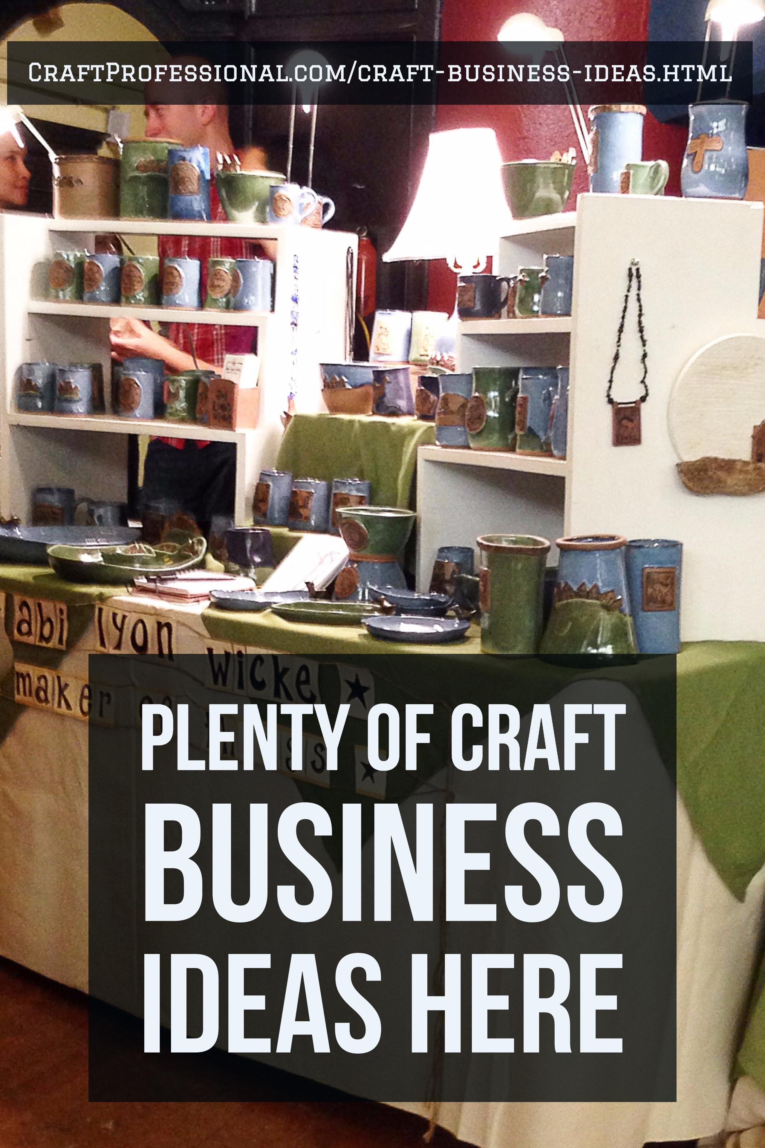 20 Craft Business Ideas Craft Business Ideas Craft Business
