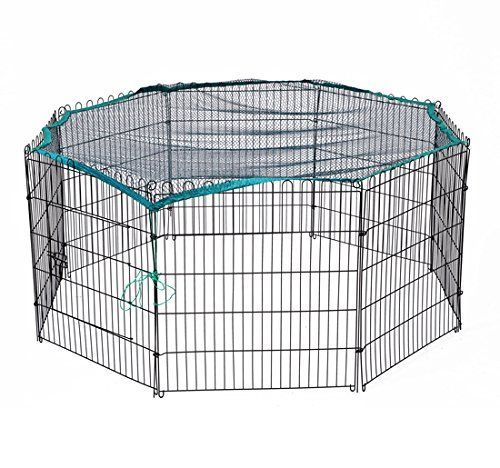 Pawhut Universal Fit Pet Dog Playpen Exercise Yard Mesh Safety Net Cover - http://www.thepuppy.org/pawhut-universal-fit-pet-dog-playpen-exercise-yard-mesh-safety-net-cover/