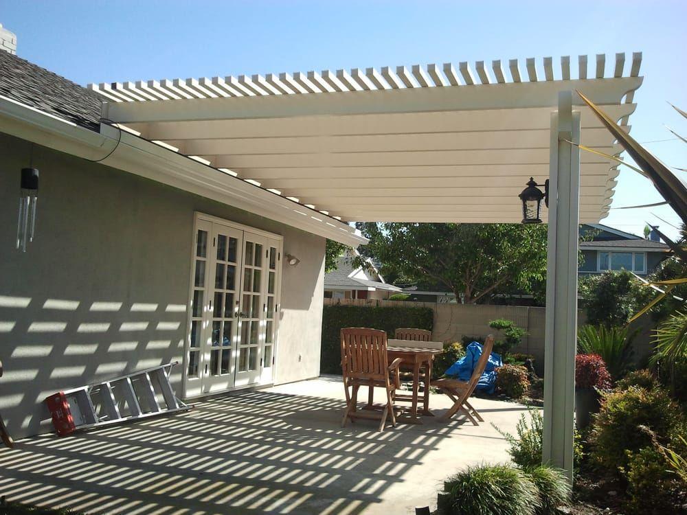 Roof Mounted Open Lattice Patio Cover With Post Lights In Corona Yelp Lattice Patio Covered Patio Lattice Deck