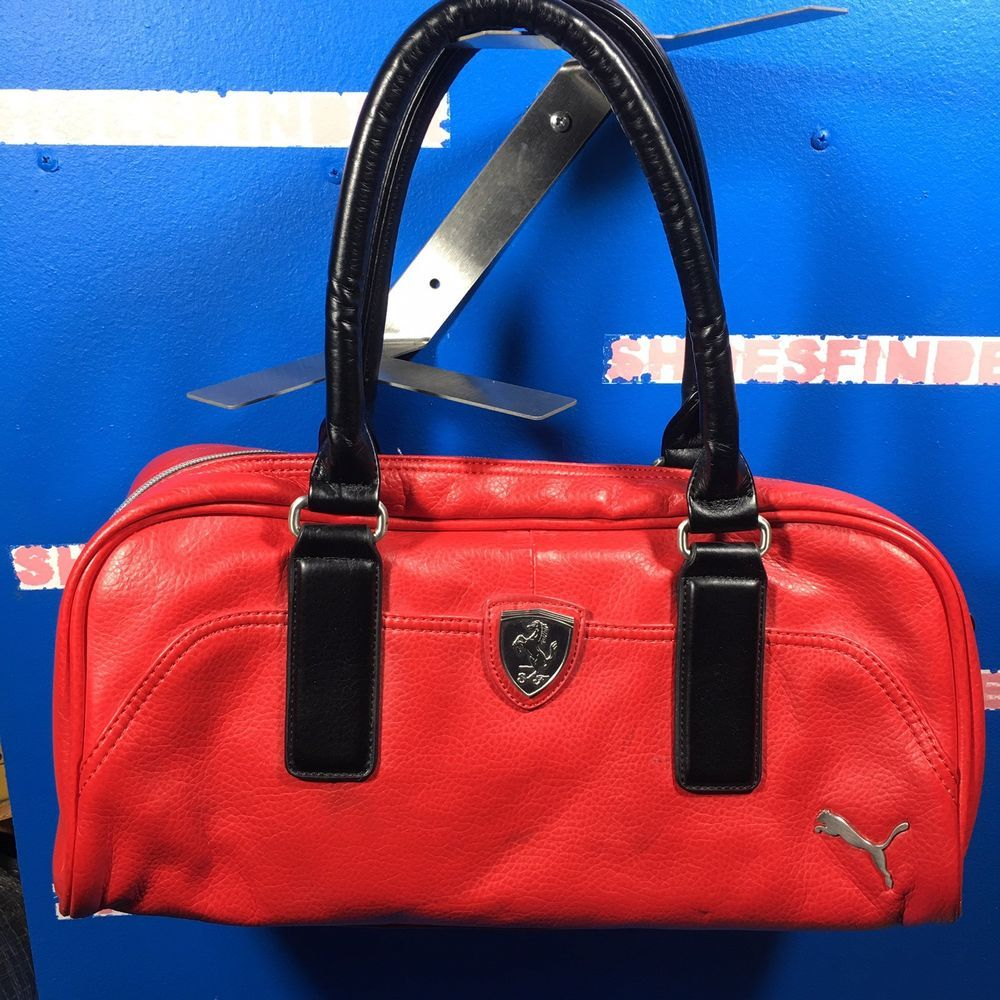 300604c4f7363e Puma Ferrari collaboration Shoulder bag #fashion #clothing #shoes # accessories #mensaccessories #bags (ebay link)