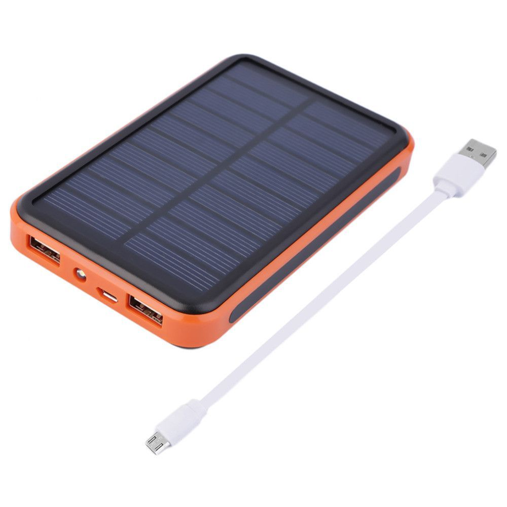 New Amazing 12000mah Waterproof Portable Solar Power Usb Solar Charger For Smart Phones Portable Solar Power Solar Usb Charger Solar Battery Charger