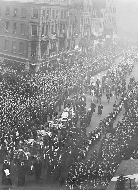 Queen Victoria's funeral procession. 2nd February, 1901
