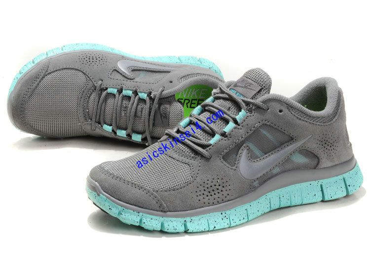 on sale e8729 a5741 Buy 2014 Hot Sale Womens Nike Free Run Suede Grey Jade with best  discount.All