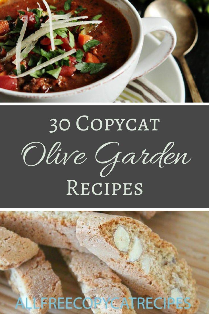 34 Olive Garden Copycat Recipes | Copycat Olive Garden
