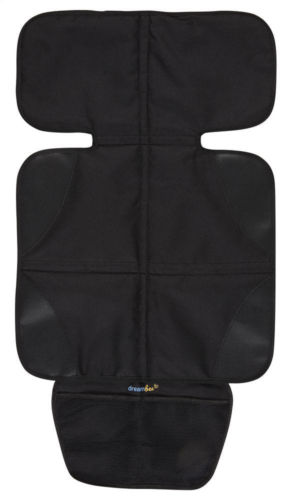 Deze Essentials-zetelbeschermer van Dreambee kan je makkelijk bevestigen op  je autozetel en voorkomt dat e5e14b41bc1