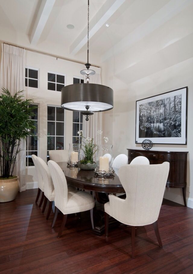 Dining Tables and chairs Sideboards and accents Flooring, carpets