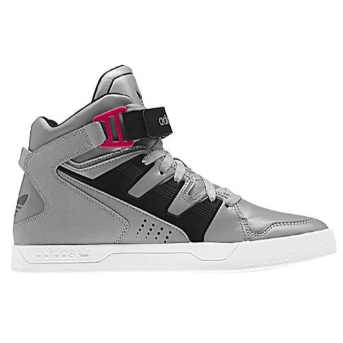 adidas Originals MCX1 Mens Basketball Shoes Mid Grey/Black/Red Beauty