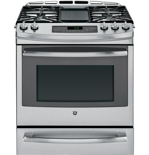Ge Profile Series 30 Quot Four Burners Griddle Oven And
