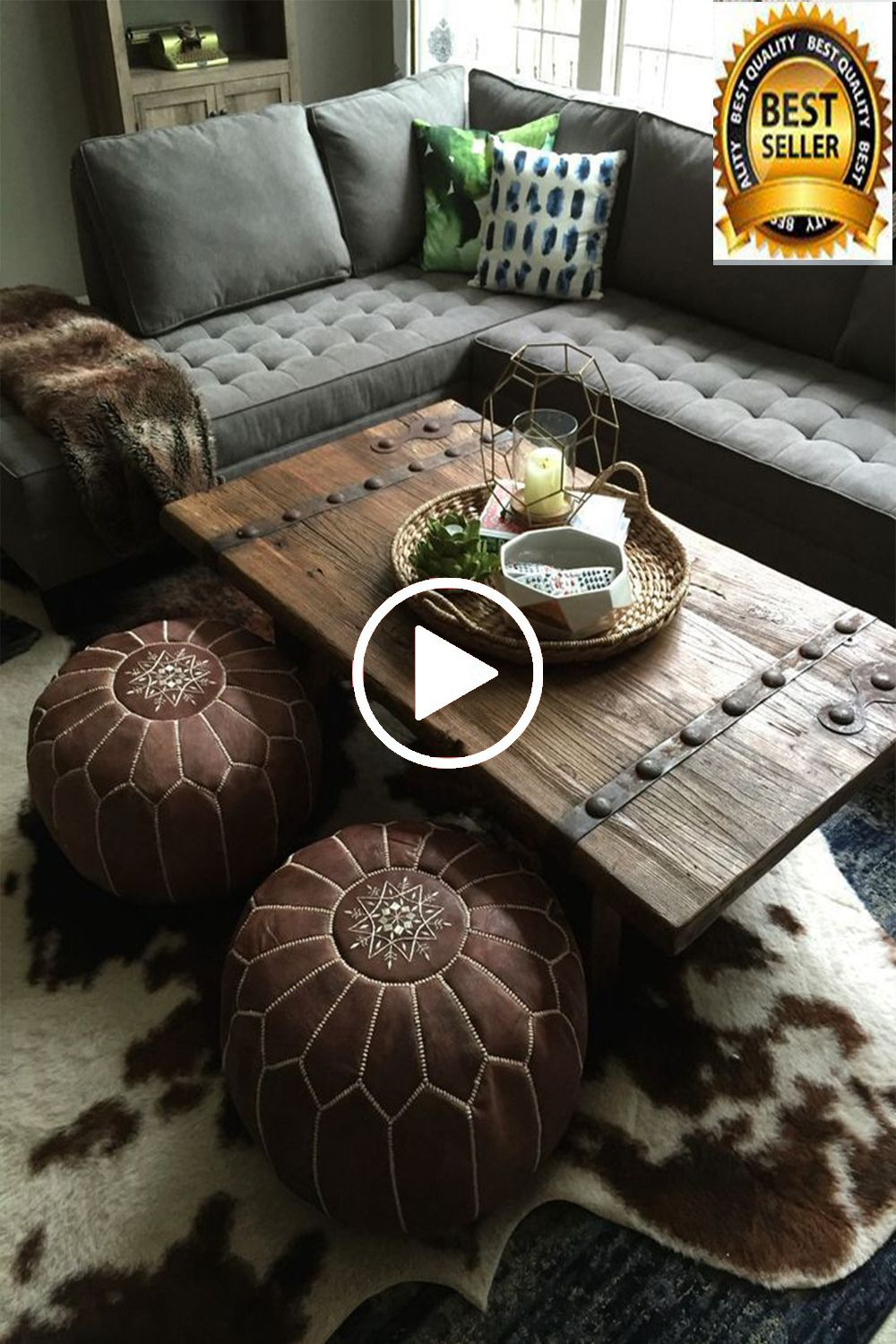 50 Off Moroccan Pouf Outdoor Furniture Ottoman Pouffe Etsy In 2020 Coffee Table Inspiration Floor Seating Living Room Living Decor [ 1500 x 1000 Pixel ]