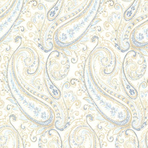 Paisley Penelope 10m X 52cm Wallpaper Roll East Urban Home Colour