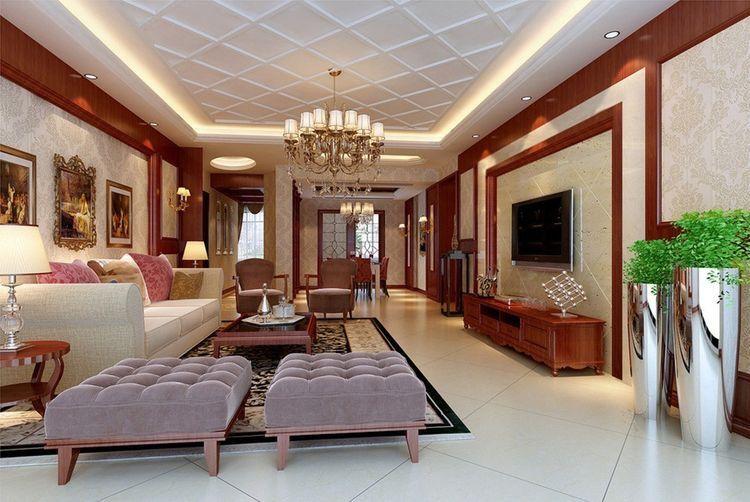 Pin Di Wendanak File #pop #ceiling #living #room #design
