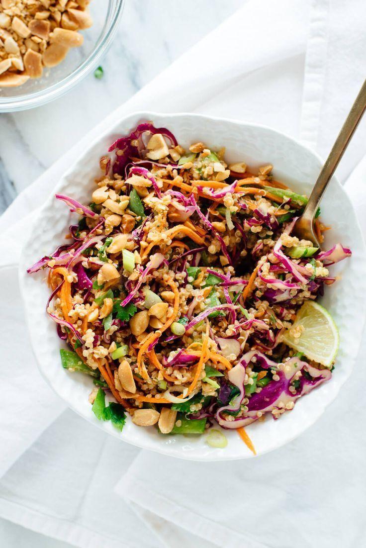 Crunchy Thai Peanut & Quinoa Salad - Salat / Salad -