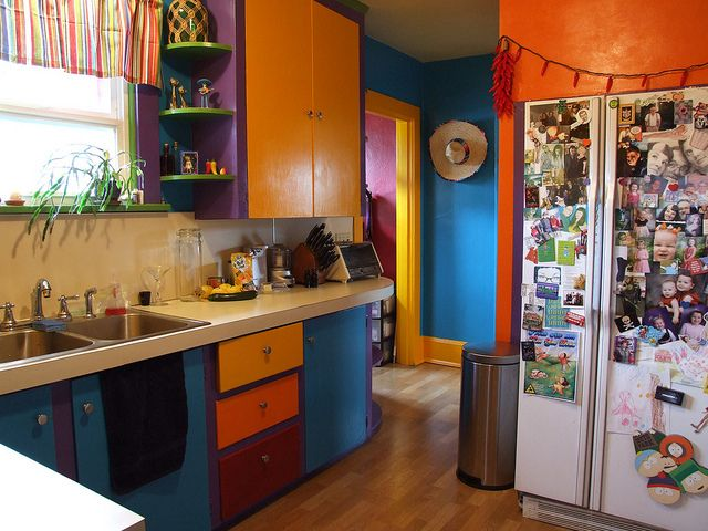 Captivating Fiesta Kitchen...gorgeous!