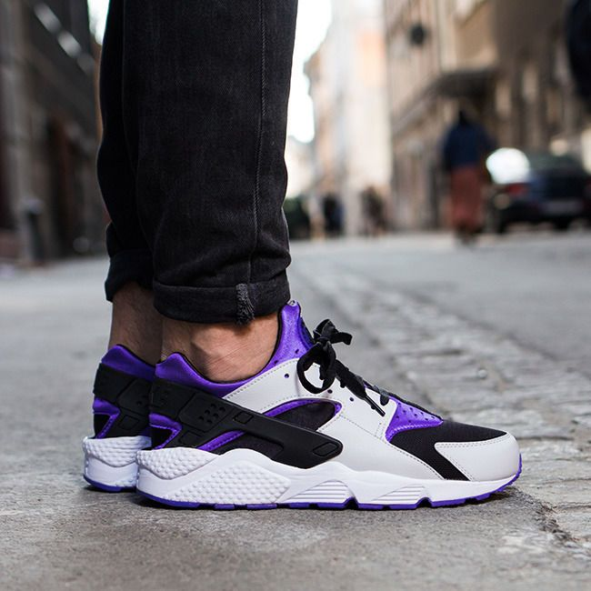 pretty nice 49b1d 3feeb Mens Nike Air Huarache - Persian Violet/Platinum - 318429-501 - UK 9.5 EUR  44.5