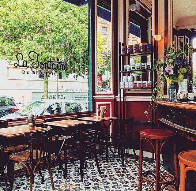 Eclectic Restaurant Decorating: Restaurant La Fontaine De Belleville