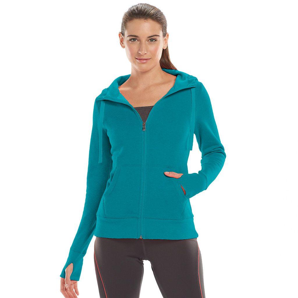 Tek Gear® Scuba Neck FullZip Fleece Hoodie Women's