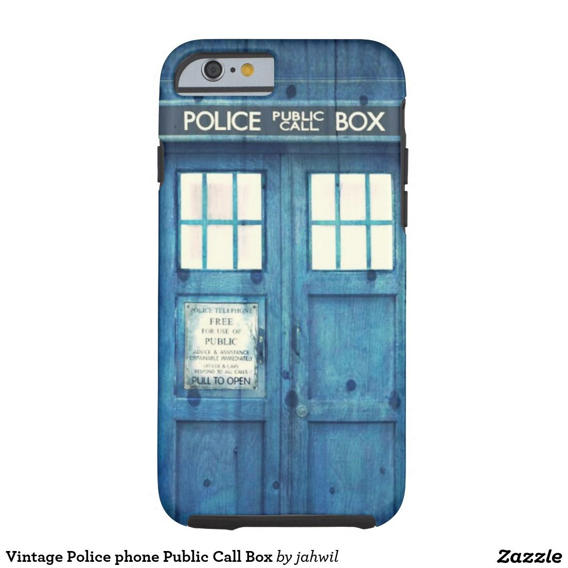 Vintage Police phone Public Call Box CaseMate iPhone Case
