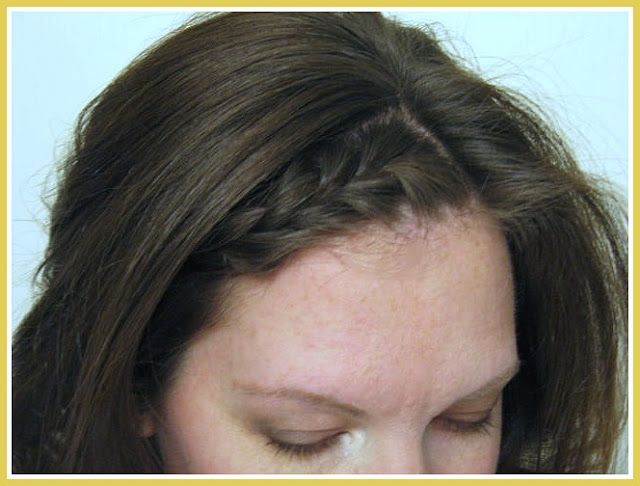 Braided Bang Tutorial - 5 minutes to a new look