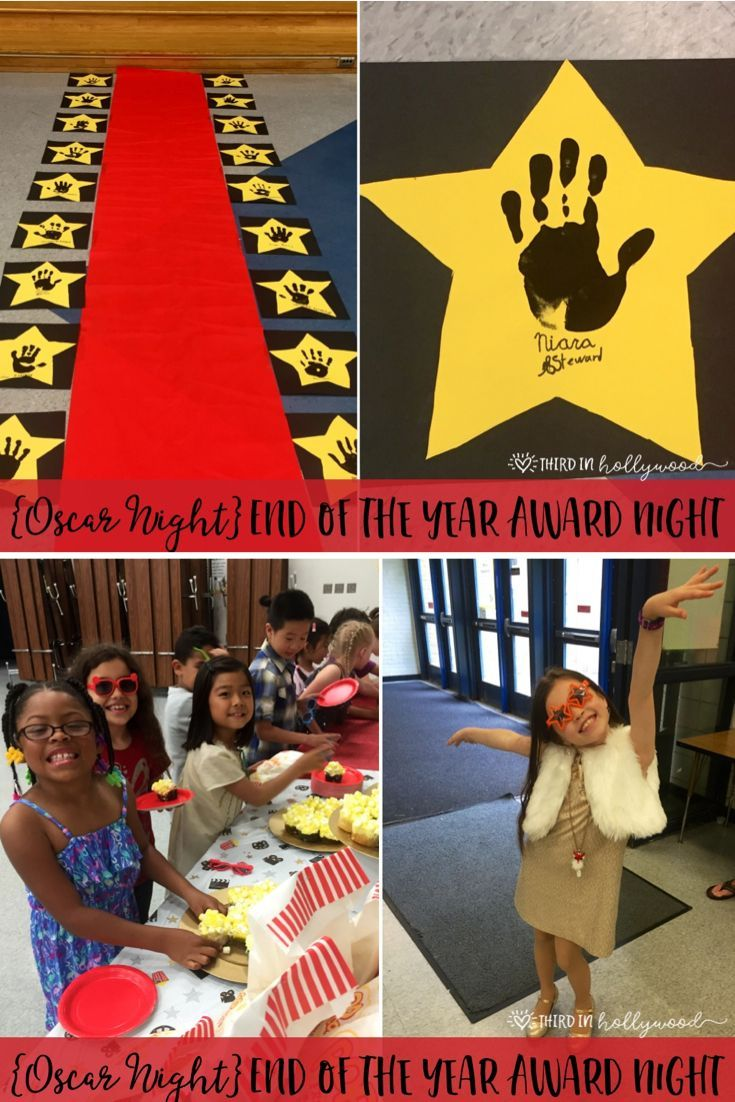 End of the year awards night iteach third pinterest - Kindergarten graduation decorations ...