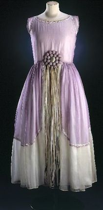 Antique Dress, Jeanne Lanvin, ca. 1924-28
