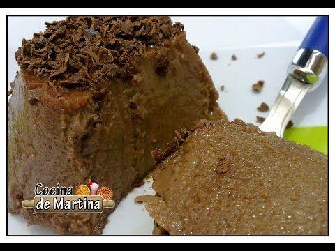 Flan de chocolate casero | Recetas de cocina | Cocina de Martina - YouTube