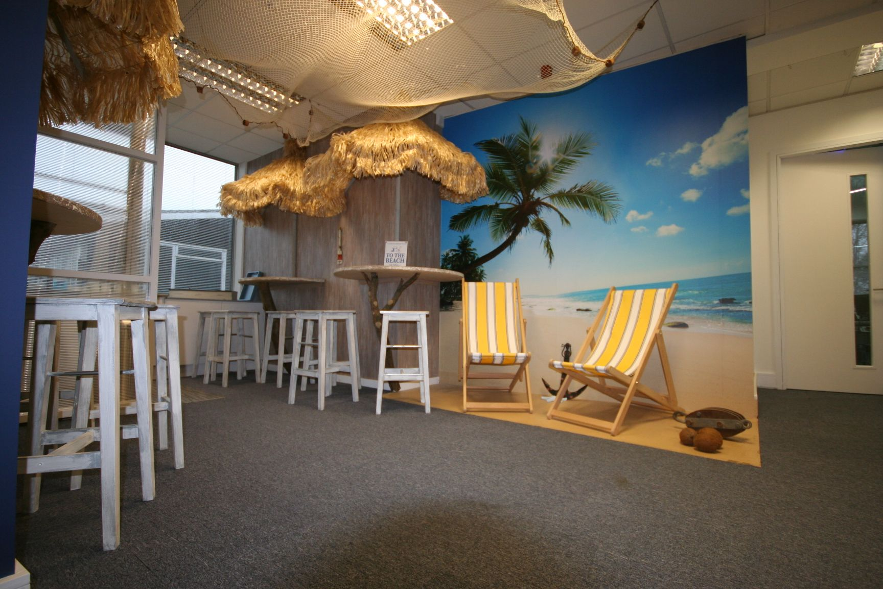 Beach Themes Beach Theme Office Break Out Space Next To
