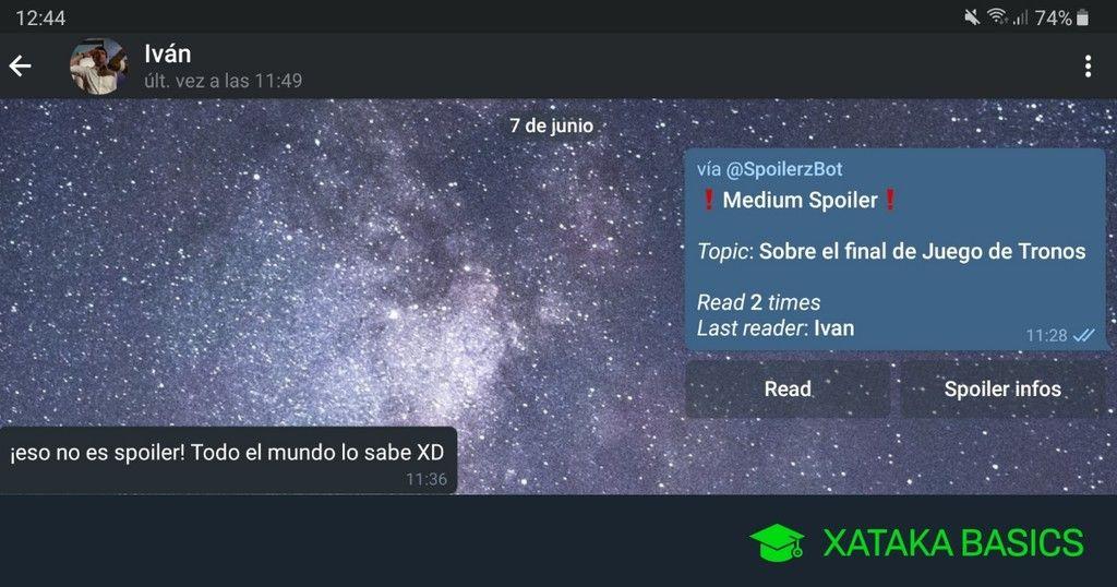 Comprimir Video Sin Perder Calidad Como Enviar Spoilers En Un Chat De Telegram Sin Que Los Vea Todo
