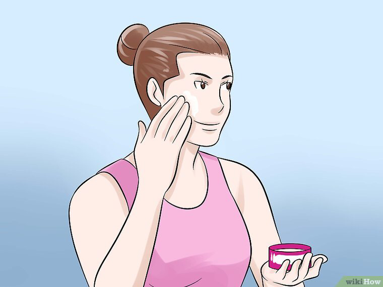 5 Ways To Get Porcelain Skin Wikihow Porcelain Skin Simple Skincare Routine Beauty Skin Care Routine