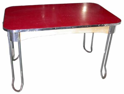 chrome and formica dining sets formica kitchen table on formica kitchen table 011 red h77cm - Formica Kitchen Table