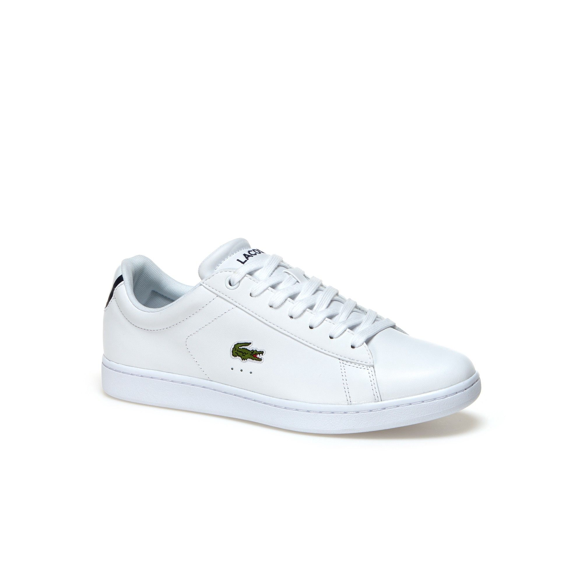 a7792cdc839320 Lacoste Men s Carnaby Evo Bl Leather Trainers - White 8.5