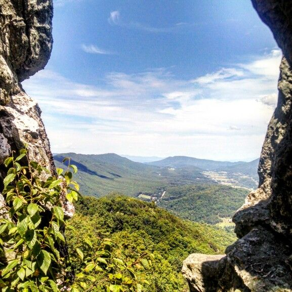 """Dragon's Tooth in Catawba, VA 
