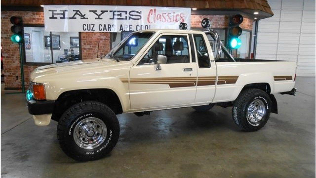 1986 Toyota Pickup 4x4 Xtracab Deluxe For Sale 100953229 Toyota Pickup 4x4 Toyota Trucks Toyota