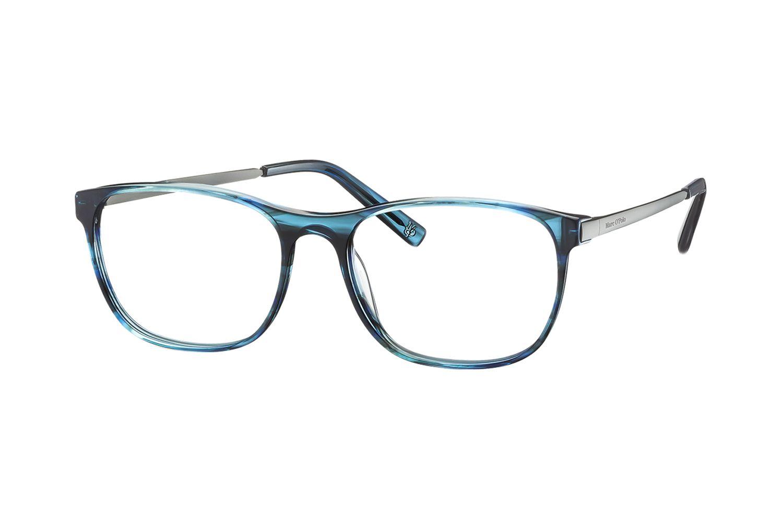 Marc O Polo 503124 70 Brille In Blau Strukturiert Brille Brillengestelle Brille Putzen