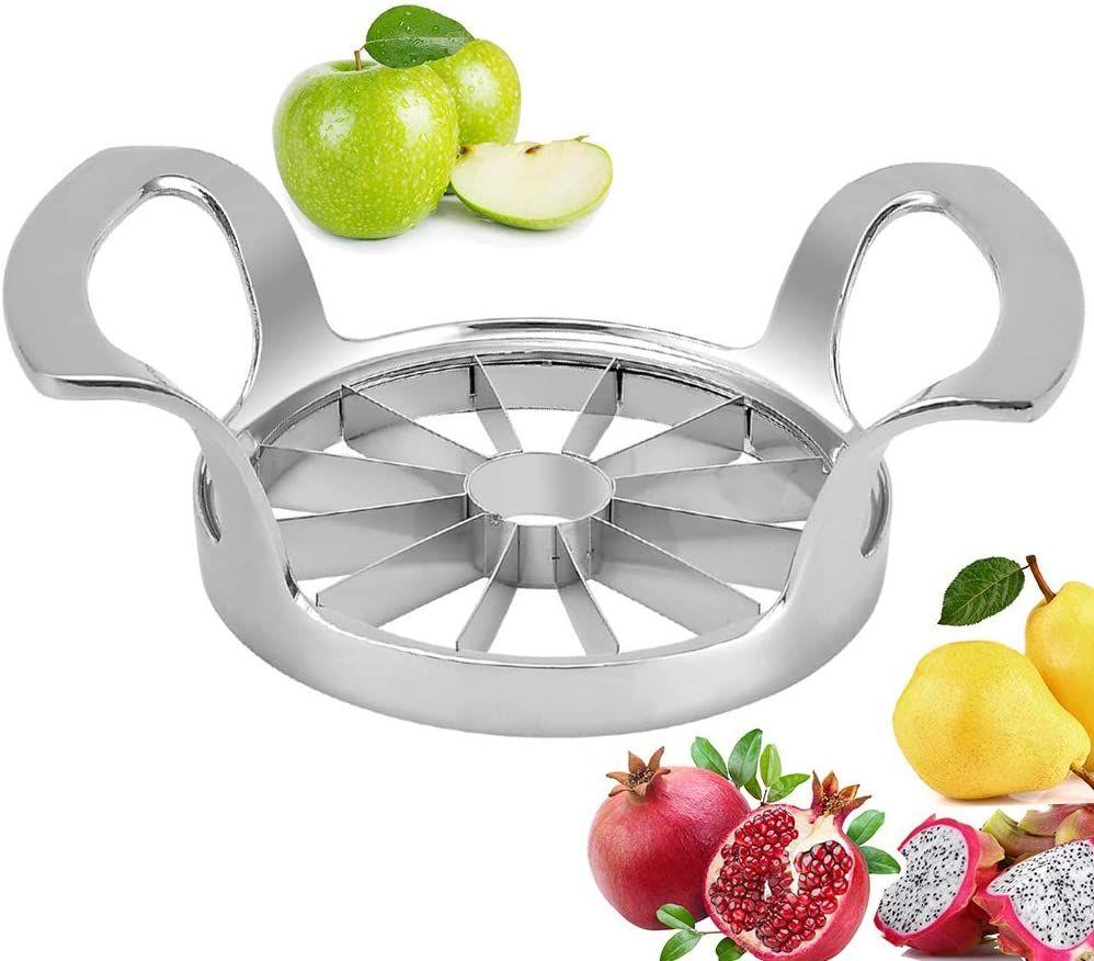 Apple slicer corer commercial cutter stainless steel
