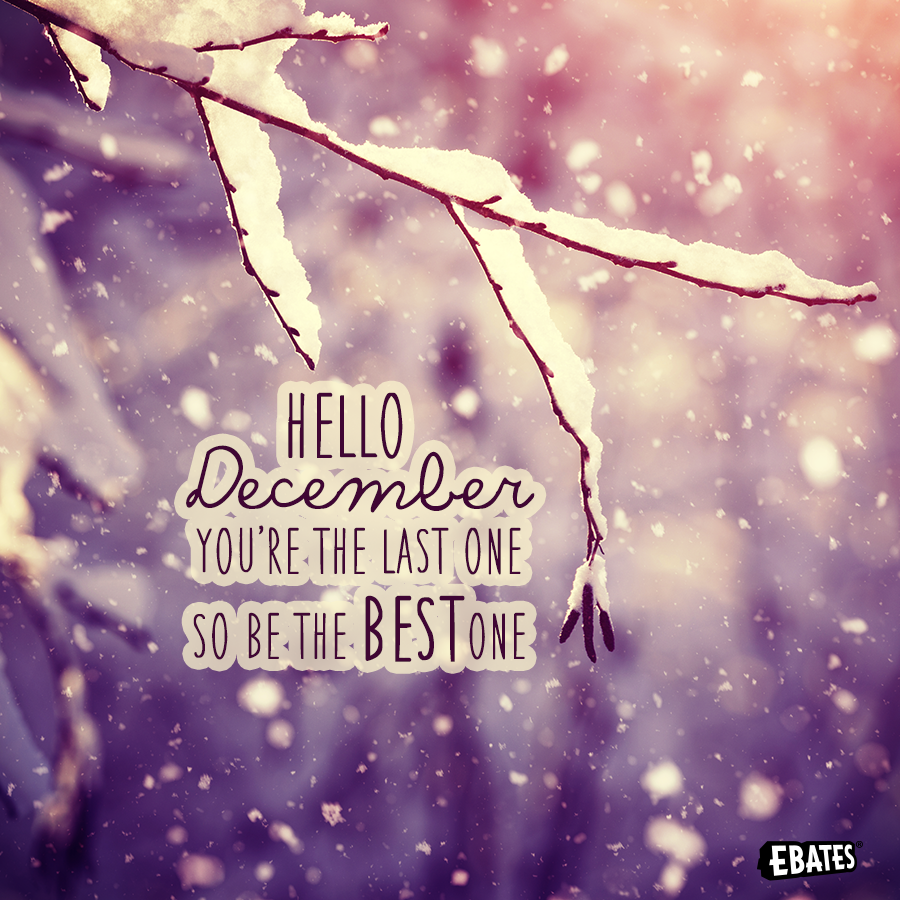 Hello December, make our wishes come true! | December ...