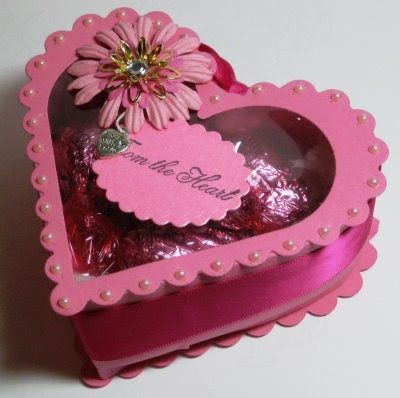 Hi Girls, today I would like to show you how to make a little heart shaped gift box, just perfect for those little Valentines Presents. It...