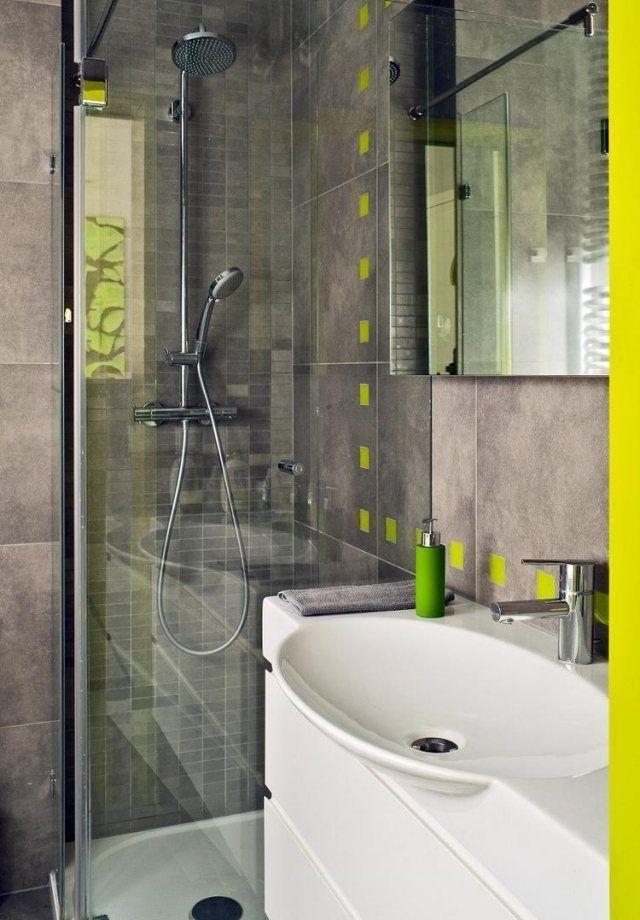28 idées d'aménagement salle de bain petite surface - Amenagement De Salle De Bain Avec Douche