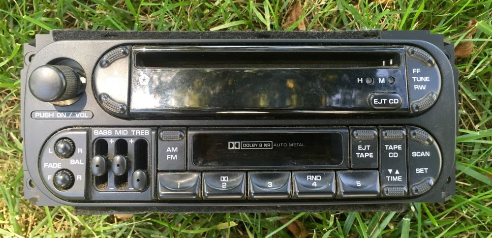 1998 2001 Jeep Grand Cherokee Chrysler Dodge Radio Cd Player Cette Oem