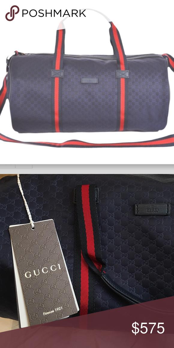 b513696f37b Gucci crossbody unisex duffle handbag