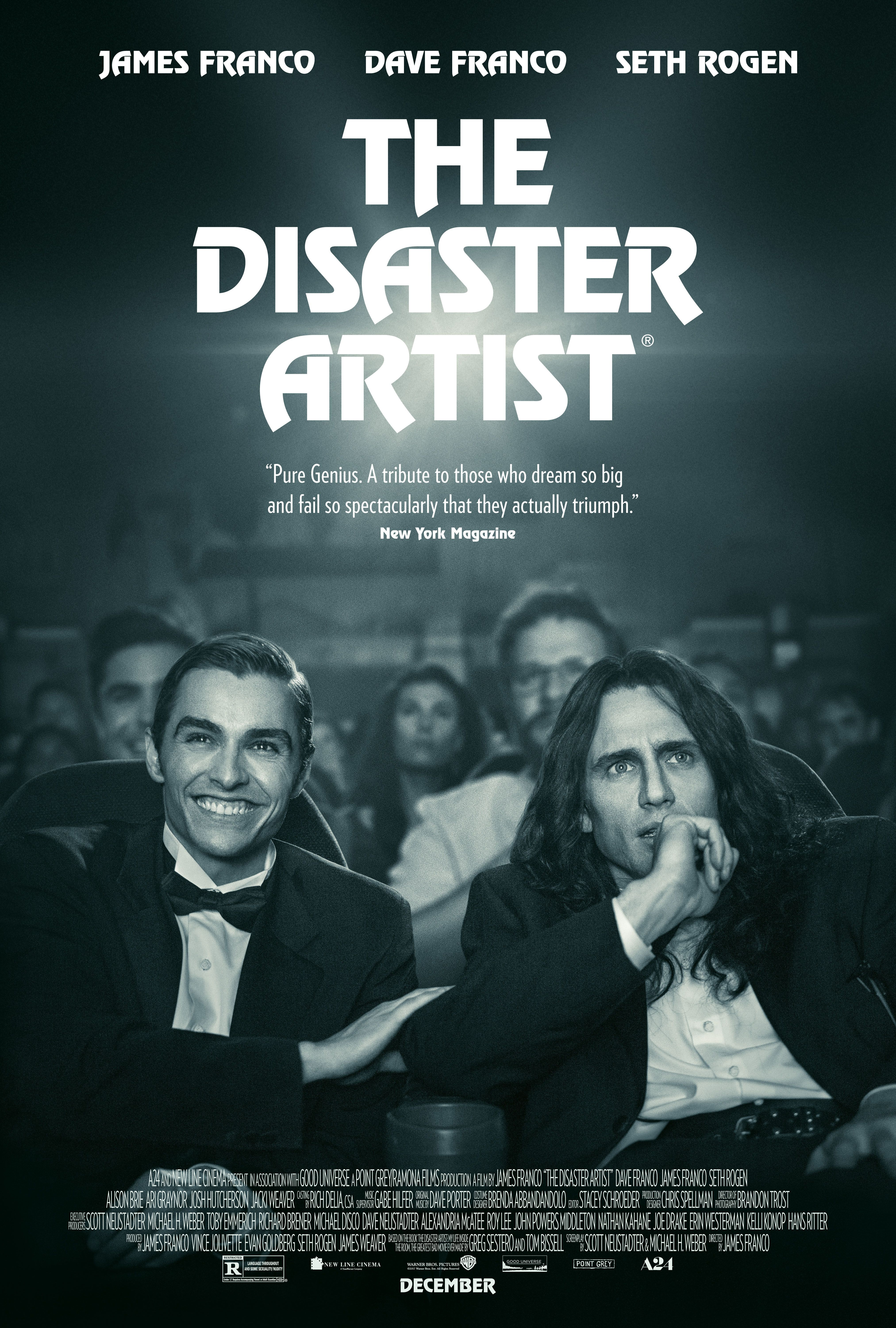 Watch James Franco Channels Tommy Wiseau In The Official Trailer For The Disaster Artist From A24 Awardscircuit Entertainment Predictions Reviews The Artist Movie Full Movies Online Free Streaming Movies