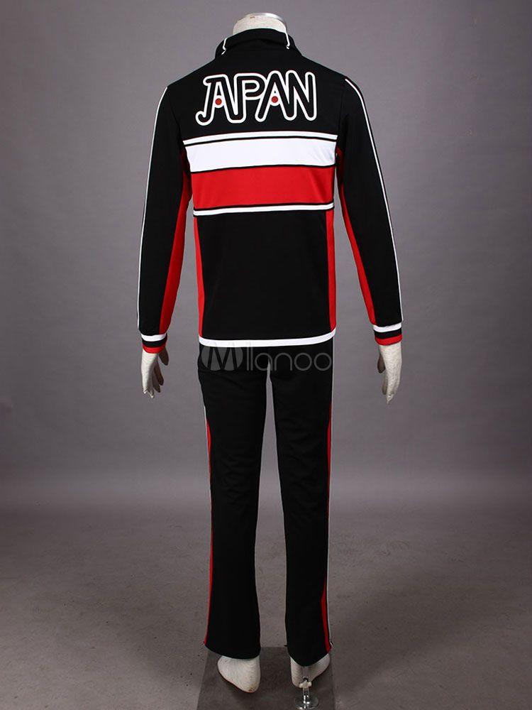 New Prince Of Tennis Japanese Team Tennis Wear Cosplay Costume Japanese Tennis Prince Tennis Wear Toddler Halloween Costumes Adidas Jacket