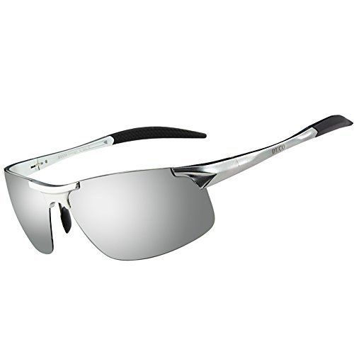 Herren Sportbrille Polarisierte Sonnenbrille Fahrerbrille eXXdAeH7M