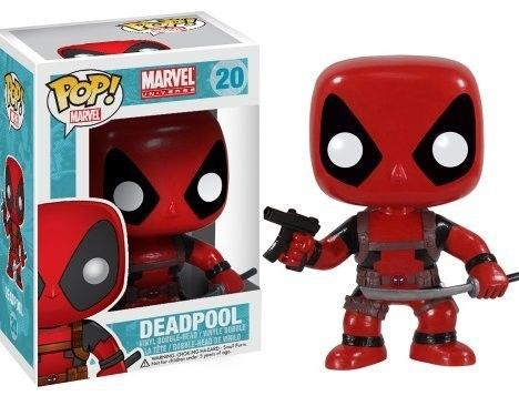 Funko 3052 Pop Marvel Deadpool Bobble Figure