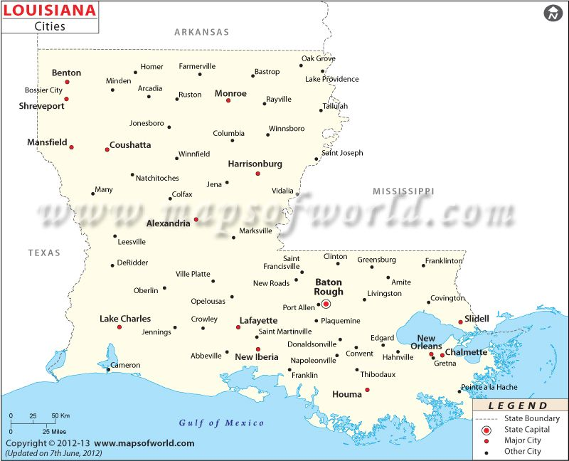 Louisiana City Map MAPS Pinterest City maps City and Lake charles